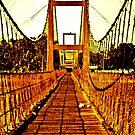 Bridge over trouble water: On Featured Work by Kornrawiee