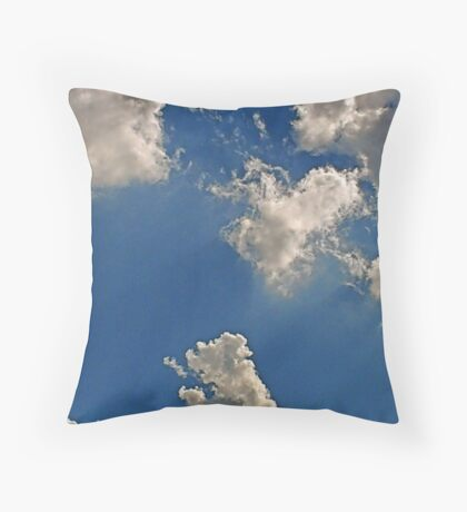 Cumulonimbus 5 Throw Pillow