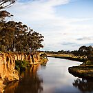 Cliffs at Werribee's K Road by James Troi