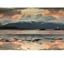 Sgeir Bhuidhe Lighthouse Photographic Print