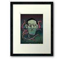 Floating Lovecraft Framed Print