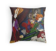 Of course , my dear. You have my undivided attention Throw Pillow