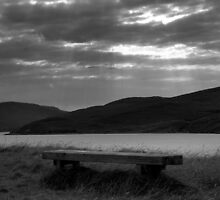 The Bench  by Lindamell