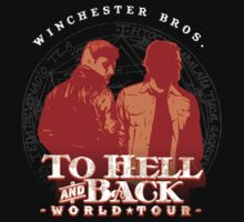 Winchester Bros. World Tour by mannypdesign