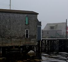 Old Fishing Building by Justin Cox