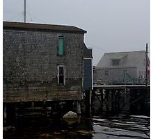 Old Fishing Building Photographic Print