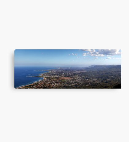 Sublime Point Panorama Canvas Print