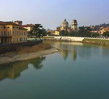 Adige River by annalisa bianchetti