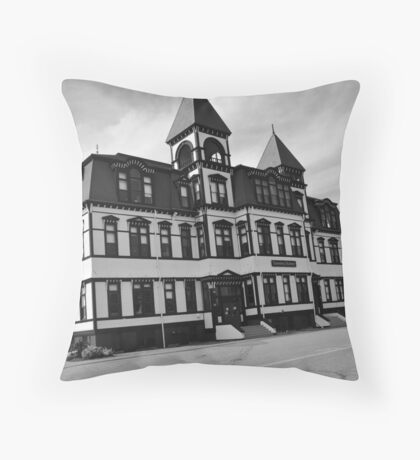 Lunenburg School Throw Pillow