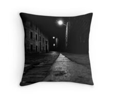 London Road at night Throw Pillow