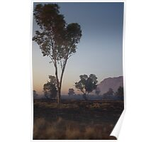 Smoky West Macdonnell Ranges Poster