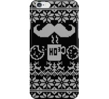 Santa Snack Ugly Sweater Style iPhone Case/Skin