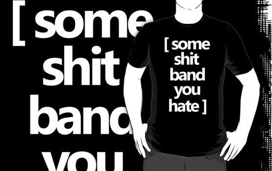 Typical Band Shirt by Strangetalk