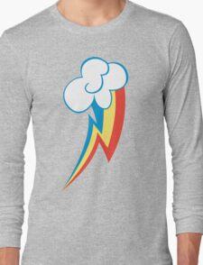 Rainbow Dash Cutie Mark (Large icon) - My Little Pony Friendship is Magic Long Sleeve T-Shirt