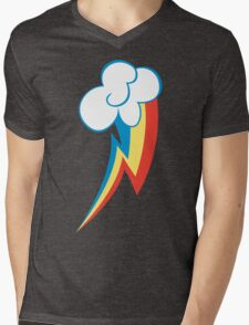 Rainbow Dash Cutie Mark (Large icon) - My Little Pony Friendship is Magic Mens V-Neck T-Shirt