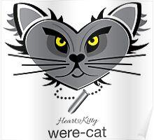 HeartKitty Were-Cat Poster
