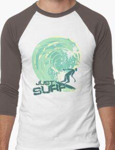 just surf II Men's Baseball ¾ T-Shirt
