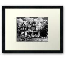 Mansfield Mansion  Framed Print