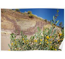 Ocrhe Pits - West Macdonnell Ranges Poster
