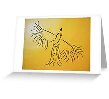 Our Grandfather's Drums - Women's Fancy Greeting Card