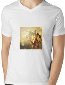 Sunstorm Portrait Mens V-Neck T-Shirt