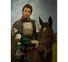 Green Knight Photographic Print
