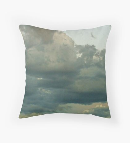 Cumulonimbus 15 Throw Pillow