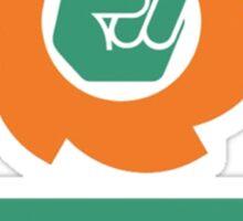 Full Logo & Title Vertical Sticker