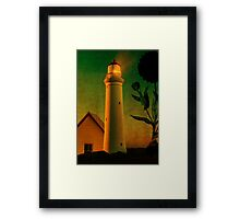 The Magic Lighthouse Framed Print