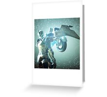 Glyph Portrait Greeting Card
