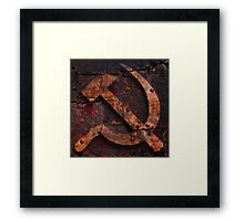 Time capsule. What's old is new again. Framed Print