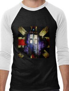Dr. Who Unijack Men's Baseball ¾ T-Shirt