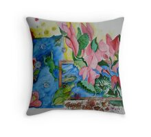 The Nourishment of Water Throw Pillow