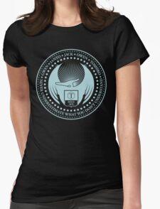 Never Underestimate - Dark Womens Fitted T-Shirt