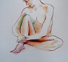 20 minutes pose, life drawing by annamora