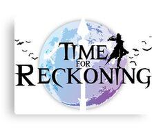 Time For Reckoning (Vayne-LoL) Canvas Print