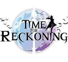 Time For Reckoning (Vayne-LoL) Photographic Print