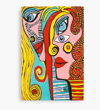 I Wish I Could Paint Like Picasso Canvas Print