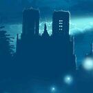 Amiens at night by M puls