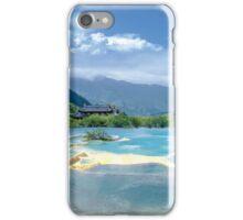 Landscape in Sichuan, China iPhone Case/Skin