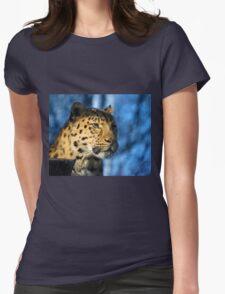 Cheetah Acinonyx Jubatus Womens Fitted T-Shirt