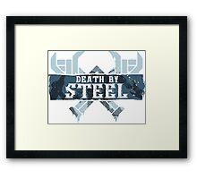 Death By Steel (Olaf-LoL) Framed Print