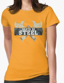 Death By Steel (Olaf-LoL) Womens Fitted T-Shirt