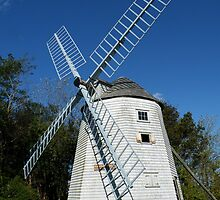 Judah Baker Windmill, Massachussetts by AnnDixon