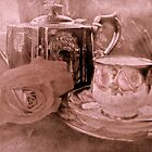 """""""Tea for One ....."""" by Rosehaven"""