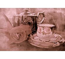 """Tea for One ....."" Photographic Print"