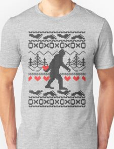 Gone Squatchin for Love this Holiday T-Shirt