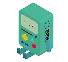 BMO - Adventure Time Photographic Print