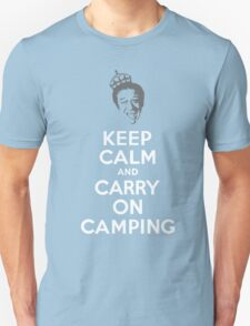 Keep Calm & Carry On Camping T-Shirt