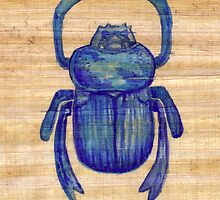 Heart Scarab by Aakheperure